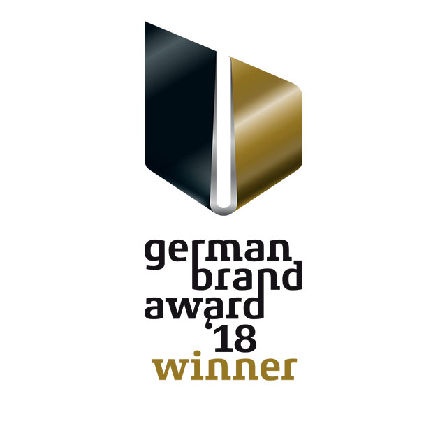 Das Logo des German Brand Award 2018