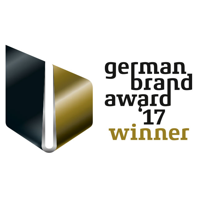 Das Logo des German Brand Award 2017