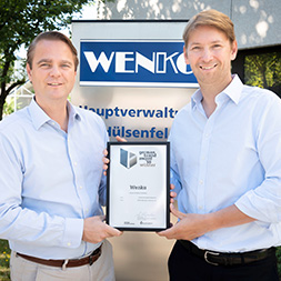 Philip und Niklas Köllner mit dem German Brand Award in Hilden